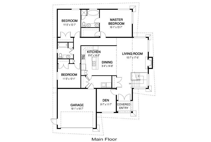 House Plans Fernwood Linwood Custom Homes