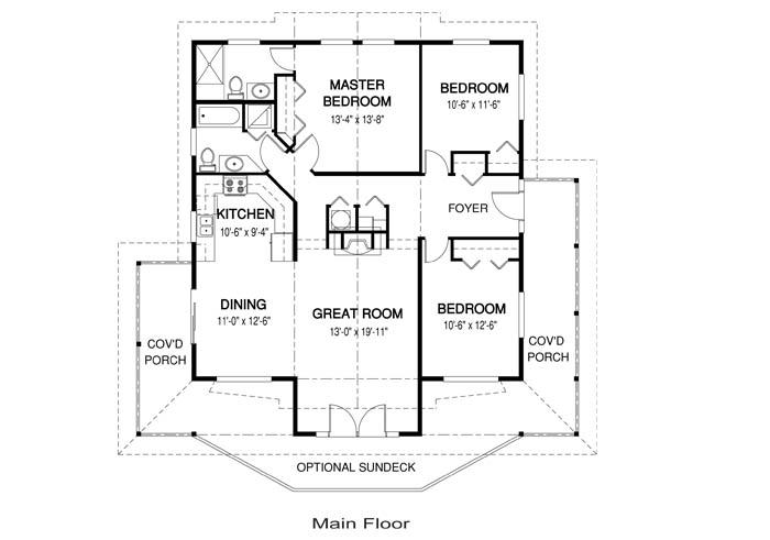 House Plans Juneau 1 Linwood Custom Homes